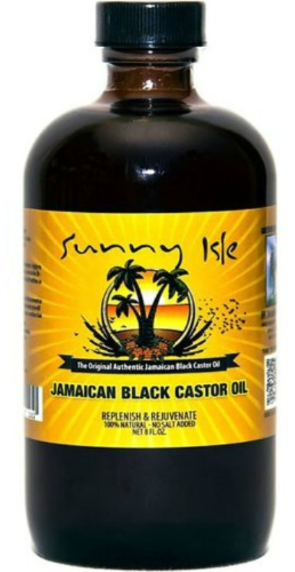 Original black castor oil