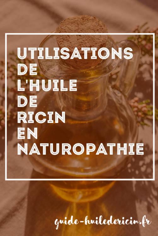 huile de ricin utilisation